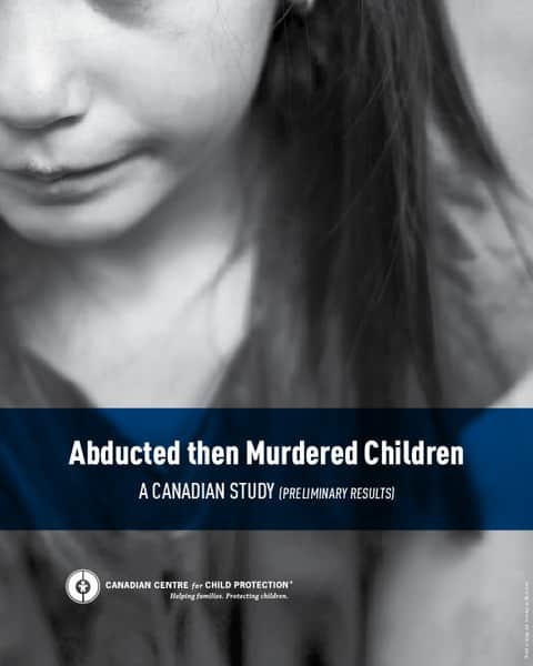 Abducted then Murdered Children: A Canadian Study (Preliminary Results)
